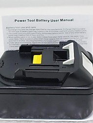 makita 18v3.0a bateria ferramenta de poder, li-ion
