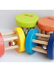 goki 5 x atividade quatro centímetros do sino de madeira chocalhos de brinquedo carrinho de bebê berço