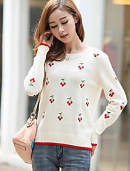 Women's Small Fresh All-Match Knit Sweater