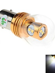 1157 8W  8 x 2323 SMD 800lm 6000K  White Light LED For Car Brake / Backup / Steering Light - (DC10~30V)