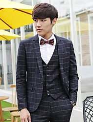 Men's Formal Suit(Include Outerwear,Vest And Pants)