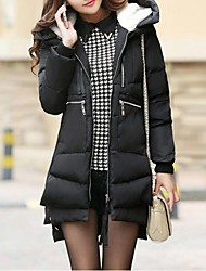 Women's New Trend Thickening Midium And Long Style Down Coat