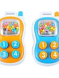 forma telemóvel Aobei chocalhos para brinquedos carrinho de bebê atividade berço (cor aleatória)