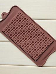 moldes grande forma de chocolate chocolate, silicone 22,5 × 10,5 × 0,5 cm (8,9 × 4,1 × 0,2 polegadas)
