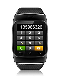 Bluetooth-Touch Smart Watch Phone Sync Anruf SMS Musik Wetter für iPhone und Android