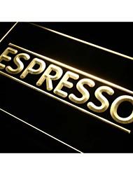 espresso i300 signo luz de neón cafetería