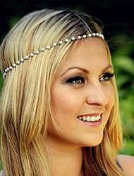 moda perla copricapo delle donne
