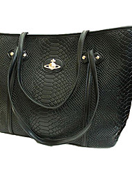 LULU Moda Crocodile Coloeful ombro único Handbag