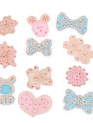Sweet Lovely Rhinestone Lace Posted Magic Belt Random Pattern