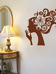 JiuBai™ Flower Beauty Wall Sticker Wall Decal, 58CM*58CM