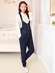 maternidade significativamente algodão fino calças jeans fivela cintas