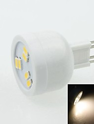 G9 2W 6LED 5730SMD 90-120LM 3000-3500K AC220-240V Spotlight Warm White - White Silver