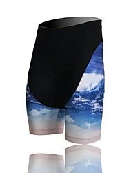 XINTOWN Unisex The High Quality Terylene High Breathability Cycling Pants—Black+Blue