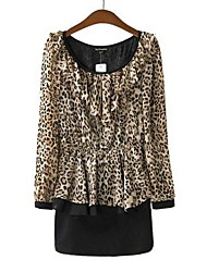 Women's Sexy Leopard Print Dress