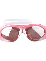 Wide-Field Electroplating Anti-fog UV Shield Protect Waterproof Swimming Glasses  Assorted Color