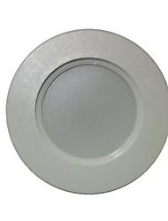 youoklight Lâmpada de Embutir Decorativa 3 W 200 LM 3000 K Branco Quente 8 SMD 5730 AC 220-240 V Encaixe Embutido