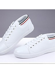 Men's Shoes Casual Leatherette Fashion Sneakers White