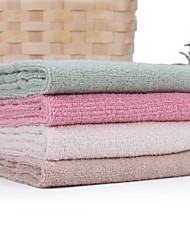 Thouse® Plain Satin Wash Towel(100% Cotton,35*80cm)