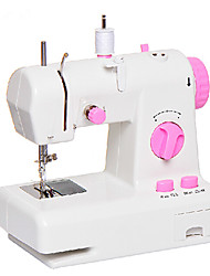 Fancy Mini Electric Pink Buttons Sewing Machine
