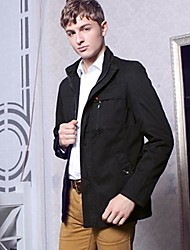 Men's Casual Fashion Slim Stand Collar Jacket