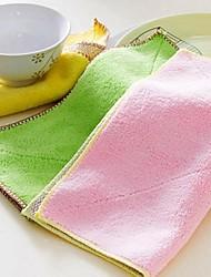 Plush Sided Super Absorbent Decontamination Wipes Random Color,28x28x0.2cm