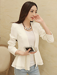 Women's Suits & Blazers , Polyester Casual/Work Jushang