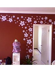 decalque da parede adesivo de parede flor jiubai ™