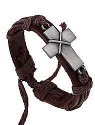le nouveau bracelet en cuir croix