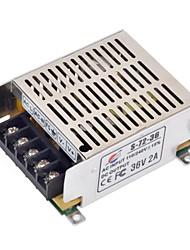 xinyuanyang® s-72-36 36v 2a commutation réglementé alimentation pour caméra de sécurité CCTV - argent (110 ~ 220V)