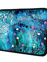 "Elonno Flower Notes 7"" Neoprene Protective Sleeve Case for iPad Mini 1 2 / Galaxy Tab2 P3100 / Kindle Fire HD"