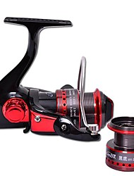 Spinning Fishing Reel 2000 Size 10BB with Double Aluminum Spools