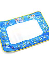 50 * 70 * 2cm de los niños tablero de dibujo del agua del aquadoodle pluma mágica juguetes de la novedad con pinturas de bus (envase de plástico)