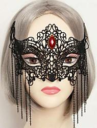 moda sexy festa a fantasia máscara metade do rosto das mulheres