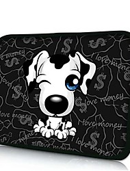 Elonno White Dog 10'' Tablet Neoprene Protective Sleeve Case for HP iPad 2/4/5 Samsung Galaxy Note 10.1/Tab 3
