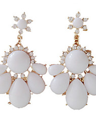 Canlyn Women's Gem Drop-Off Elegant Earrings
