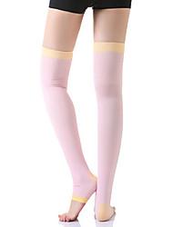 Super meias compressio pressão elástica over-the-knee pé atropelar cuecas de perna fina calcinha ny083