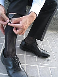 Men's Sexy Feet Sexy (One Pair) Sexy Black Double Clip  Men Sock Garter Sock Suspender (Giving Silk Stockings)