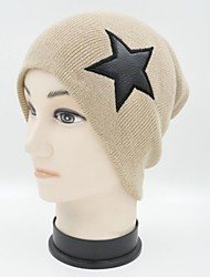 Hou&Tong® Unisex Five Pointed Star Beanie Hat