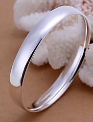 Lureme®Smooth Surface Oval Bracelet-Man