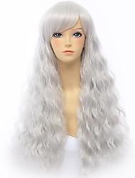 Victoria Silver 70cm Loose Wave Gothic Lolita Wig