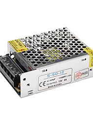 5a dc 12v 60w para AC110-220V alimentación férrico para las luces LED