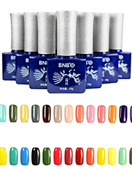 Updated Version Easy Soak-Off UV Color Gel No.13-24(10ml,Assorted Colors)