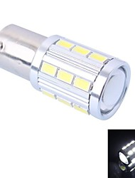 High Quality 1157/BAY15D 4W 220LM 21x5730 SMD White LED for Car Brake Light (DC12-24V, 1Pcs)
