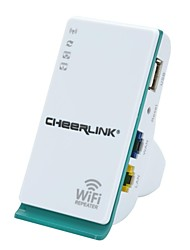 cheerlink 150Mbps tragbare drahtlose Wi-Fi-Router Repeater ap