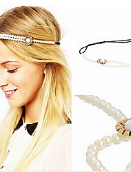 Shixin® Fashion Flower Shape Pearl Elastic Headband(1 Pc)