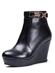 maykee женские платформа клин пятки, ботинки
