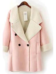 Women Lamb Fur Top , Without Lining
