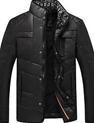 SMR Men's Fashion Stand Collar Warm Coat_13358