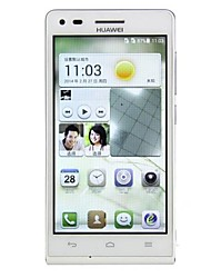 "Huawei Ascend G6 4.5""Android 4.3 WCDMA 3G Smartphone(Dual SIM,Dual Camera,Snapdragon MSM8212,1.2Ghz,Quad Core,1GB+4GB)"