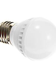 zdm ™ 3W E26 / E27 llevó bombillas globo G45 10 SMD 2835 250-280 lm cálida ac decorativa blanca 220-240 v